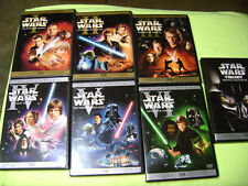 Star Wars 1-6 Saga DVD Collection PREQUEL & TRILOGY 1 2 3 4 5 6 I II III IV VI