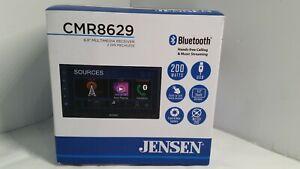 "Jensen CMR8629 2 DIN 6.8"" Bluetooth AV Receiver"