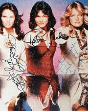 Charlie's Angels signed 8x10 photo picture poster autograph RP
