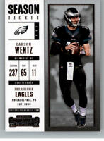 2017 Panini Contenders Base Cards Pick From List 1-100