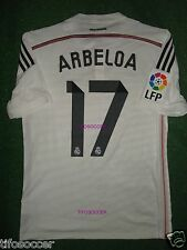 ARBELOA  REAL MADRID FINAL SUPERCOPA DE ESPAÑA 2014 MATCH UNWORN SHIRT