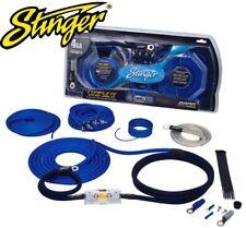 Stinger SK6641 4 Gauge AWG 6000 Series RCA & Car Amp Amplifier Wiring Kit