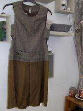 superbe robe hivers HOOD laine - cachemire - chameau taille 42 comme neuve