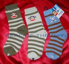 NWT 3 PAIRS PAUL FRANK Boys Socks Size 6 - 8.5 NEW