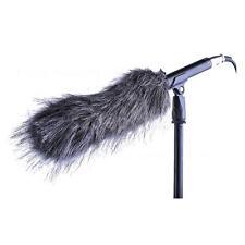 "7"" Fur Windscreen Wind Muff for Professional Shotgun Mic Microphone Outdoor"