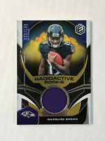 MARQUISE BROWN 2019 Elements Radioactive RC GU JERSEY /149! RAVENS!