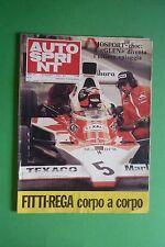 AUTOSPRINT 39/1974 GP CANADA LANCIA STRATOS MUNARI LEO BARTOLI ELIO DE ANGELIS