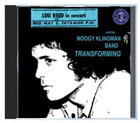 LOU REED becomes the Rock & Roll Animal, LIVE in KCMO, 1973, on CD