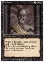4x Pestilence MTG 3rd Edition / Revised NM Magic Regular