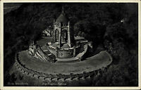 Porta Westfalica Nordrhein-Westfalen 1938 Kaiser Wilhelm Denkmal Turm Luftbild