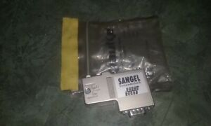 Sangel 26036 Rectangle Systemtechnik 9 Pin Male Wire Connector