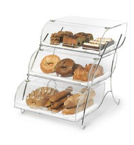 Rosseto Triple Tier Bakery Display Case