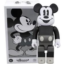 Medicom Be@rbrick Bearbrick Disney Mickey Mouse (B&W Ver.) 400% Figure