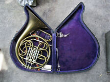 CONN ANTIQUE FRENCH HORN ELKHART IND