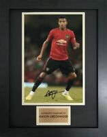 Mason Greenwood Manchester United Framed Autograph Signed Photo Display COA