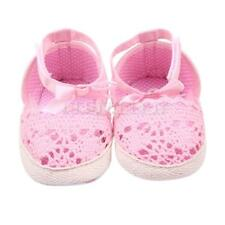 2 Colors Baby Shoes Girl's Soft Sole Sneaker Crib Shoes Size For 0-18month