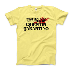 Written and Directed by Quentin Tarantino (Bloodstained) T-Shirt