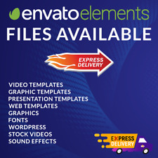 Envato Elements Files Available. Fast Shipping