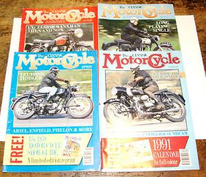 The Classic Motorcycle Magazine Zeitschrift  1990
