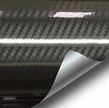 VVIVID Epoxy High Gloss Black Carbon Vinyl Automotive Wrap Film DIY (1Ft x 5Ft)