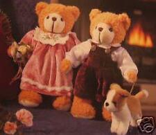 Hol Jeremiah & Penelope W Dog Plush Bear Set Nla