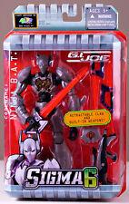 "NEW GI Joe Hasbro Sigma 6 ""Ninja B.A.T."" Soldier 2005 Wave 1 MIB Sealed Rare"
