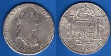 8 Reales Plata. Fernando VII año 1812 Méjico. JJ.