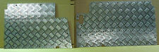 LAND ROVER SERIES 2/2A & 3 CHEQUER PLATE FLOOR PANELS - A PAIR