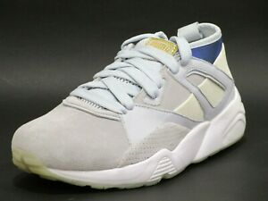 PUMA x Careaux B.O.G Sock Men's Round Toe Suede Blue Sneakers, Brand New