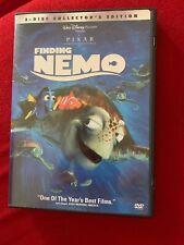 Finding Nemo (Dvd 2-Disc Collector's Edition) Disney Pixar w Extras!