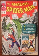 THE AMAZING SPIDER-MAN 2 1963 MARVEL 1ST VULTURE