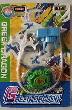 Beyblade Green Dragon Spin Gear System With Launcher