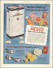 1949 Vintage ad f Nesco Golden Jubilee Electric Roaster Retro Appliance (120216)