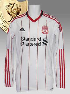 New adidas LIVERPOOL Football Club 2010 2011 Player Issue A Shirt TechFit LS L
