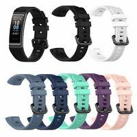 Para Huawei Band 3 Pro Relojes Pulsera Correa Banda de Silicona Watchband Strap