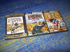 Empire Earth II 2 & Addon the Art of Supremacy = Gold PC Deutsch und mehr
