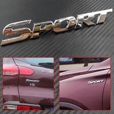 Metal Auto Car Motor Logo Decal Emblem Badge Sticker 3D Sport Word Letter Logo
