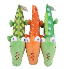 Kids Crocodile Handheld Rattles Plush Animal Handbell Music Educational Toys XS