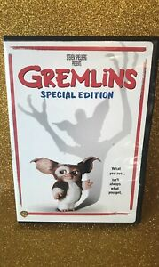 Gremlins {DVD} PG 1984 - Gizmo Classic Horror Preowned