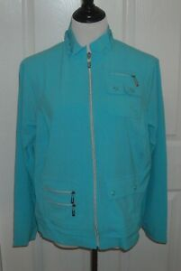 NWT Jamie Sadock Golf Women's Long Sleeve Air Wear Jacket  Size L Color Fiji
