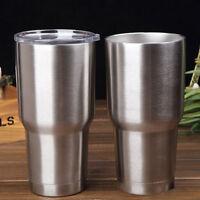 AU_ KQ_ BU_ 900ml Stainless Steel Vacuum Insulated Cooler Bottle Tumbler Cup Mug