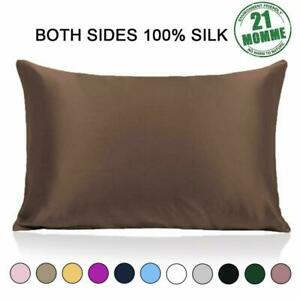 Ravmix 100% Pure Natural Mulberry Silk Pillowcase for Hair and Skin Standard