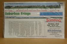 """Scenic King Backdrop Ho Suburban Fringe. Size: 79.75"""" x 8""""."""
