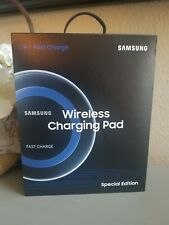 Samsung QI Fast Charge Wireless Charging Pad Special Edition Galaxy NIP