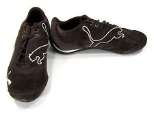 Puma Shoes Drift Cat Suede Leather Brown/Black Sneakers Men 4.5 WO 6.5