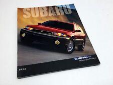 1998 Subaru Forester Outback Legacy Impreza Brochure