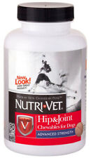 NUTRI-VET - Hip & Joint Advanced Strength Chewable Tabs for Dogs - 90 Chewables