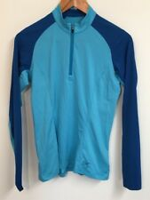 ARCTERYX Womens Blue Athletic Pullover Long Sleeve Shirt Size SMALL