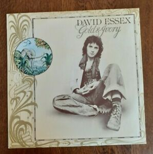 ( DAVID ESSEX -Gold & Ivory )-  -G1-LP