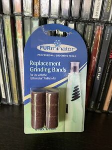 Furminator Nail Grinder Replacement Bands, 6-Count 026036, New